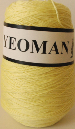 Yeoman Sport  Pure Virgin Merino Wool - Lemon